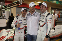 LMP1 pole sitters #1 Porsche Team Porsche 919 Hybrid: Neel Jani, Andre Lotterer, Nick Tandy
