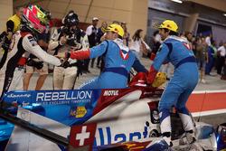 LMP2 first place #31 Vaillante Rebellion ORECA 07-Gibson: Julien Canal, Nicolas Prost, Bruno Senna