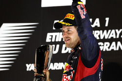 Podium: third place Sebastian Vettel, Red Bull Racing RB8