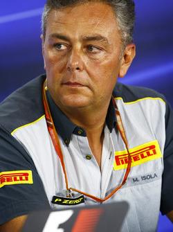 Mario Isola, Gerente de Racing, Pirelli Motorsport