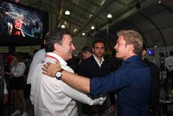 Nico Rosberg, Alejandro Agag, CEO Fórmula E