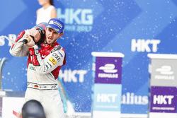 Podyum: Yarış galibi Daniel Abt, Audi Sport ABT Schaeffler