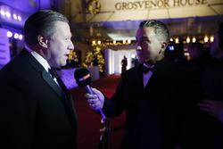 Zak Brown, Director Ejecutivo, McLaren Technology Group con Sky TV