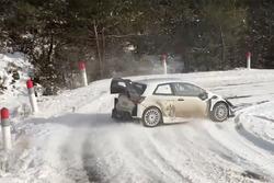 Pruebas Toyota Yaris WRC Plus Monte Carlo