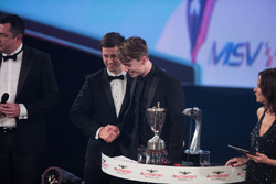 McLaren Autosport BRDC Award winnaar Dan Ticktum met Alexander Sims