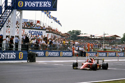 Ganador de la carrera Alain Prost, Ferrari 641/2
