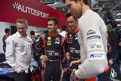 WRC-rijders Dani Sordo en Thierry Neuville, Hyundai Motorsport