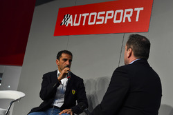 Marc Gene speaks to Henry Hope-Frost on the Autosport Stage