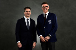 NASCAR Hall of Fame inductee Ray Evernham, Jeff Gordon