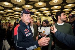 Возвращение Карлоса Сайнса в Испанию