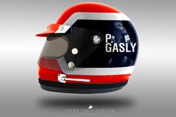 F1-Helme im Stil der 1970er-Jahre