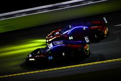 #69 HART Acura NSX GT3, GTD: Chad Gilsinger, Ryan Eversley, Sean Rayhall, John Falb, #64 Scuderia Corsa Ferrari 488 GT3, GTD: Bill Sweedler, Townsend Bell, Frankie Montecalvo, Sam Bird