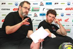 Кристоф Буржуньон и Кэл Кратчлоу, Team LCR Honda