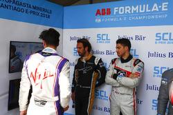 Alex Lynn, DS Virgin Racing, Jean-Eric Vergne, Techeetah, Edoardo Mortara, Venturi Formula E Team