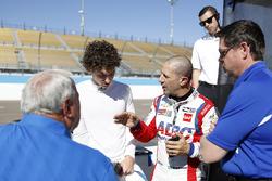 Tony Kanaan, A.J. Foyt Enterprises Chevrolet, Matheus Leist, A.J. Foyt Enterprises Chevrolet and A.J. Foyt