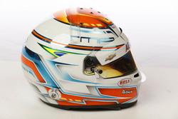 Helm von Matheus Leist, A.J. Foyt Enterprises Chevrolet