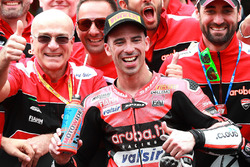 Le vainqueur Marco Melandri, Aruba.it Racing-Ducati SBK Team