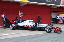 Haas F1 VF-18赛车发布