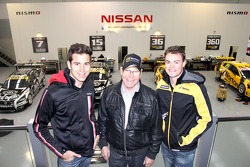 Rick Kelly, Allan Moffat and James Moffat