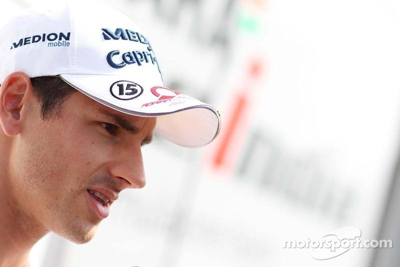 Adrian Sutil, Sahara Force India F1.