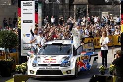 Jari-Matti Latvala, Miikka Anttila, Volkswagen Polo WRC #7, Volkswagen Motorsport