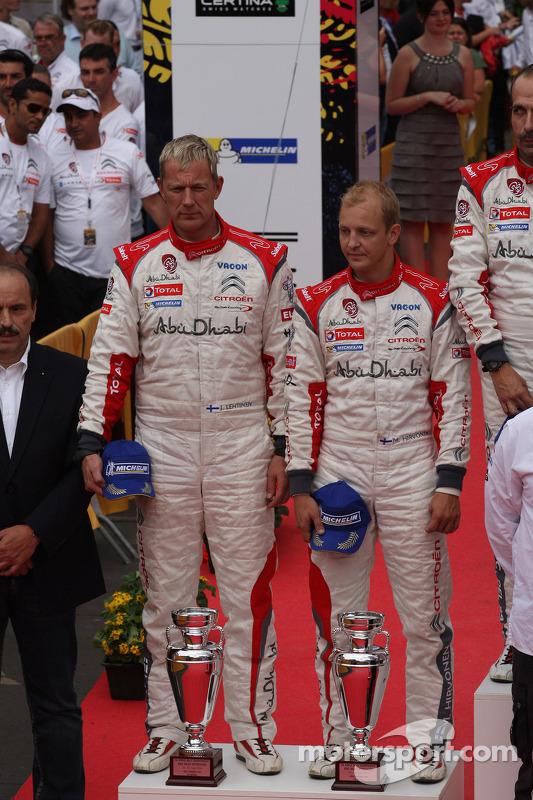 Mikko Hirvonen, Jarmo Lehtinen, Citro_én DS3 WRC #2, Citro_én Total Abu Dhabi World Rali Team