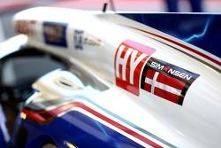 Toyota Racing, Toyota TS030, Hybrid - tributo a Allan Simonsen