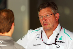 Ross Brawn, jefe de equipo del Mercedes AMG F1 Team