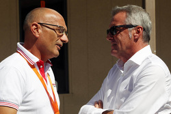 Gabriele Tarquini, Honda Civic, Honda Racing Team J.A.S. , Marcello Lotti, WTCC General Manager