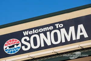 Sonoma raceway entrance