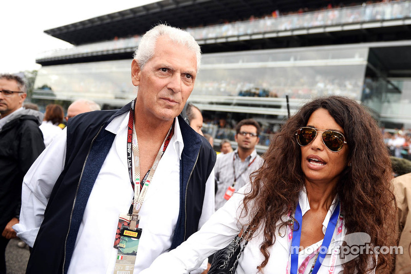 Marco Tronchetti, Pirelli Chairman on the grid