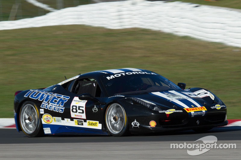 #85 The Auto Gallery Ferrari 458: John Farano