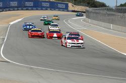 #57 Stevenson Motorsports Camaro GT.R: Robin Liddell, John Edwards leads the GT field