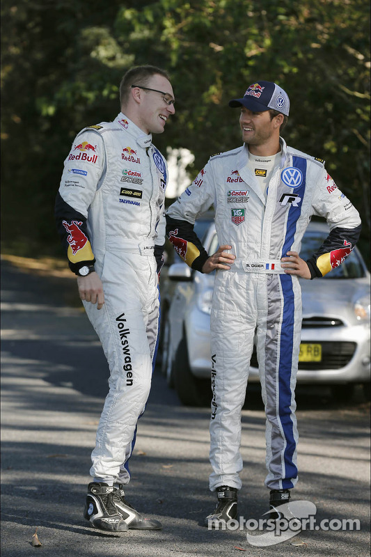 Jari-Matti Latvala e Sébastien Ogier, Volkswagen Motorsport