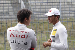 Adrien Tambay, Audi Sport Team Abt Audi A5 DTM and Timo Scheider, Audi Sport Team ABT Sportsline Audi A5 DTM