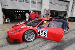 Pierre Kaffer, Pierre Ehret, Alexander Mattschull, GT Corse, Ferrari F458 GT3