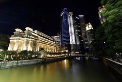 صورة لأفق مدينة سنغافورة