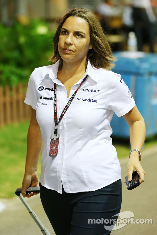 Claire Williams Williams Deputy Team Principal At