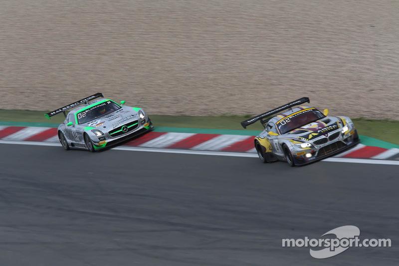 #84 HTP Gravity Charouz, Mercedes-Benz SLS AMG GT3: Maximilian Buhk, Maximilian Götz, Bernd Schneider