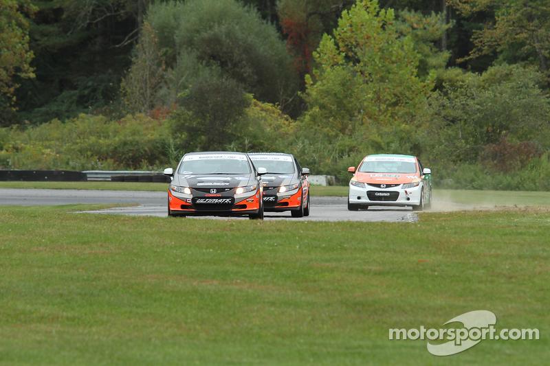 #77 Compass360 Racing Honda Civic SI: Eric Curran, Robert Thorne