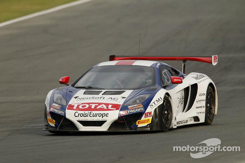#10 Sébastien Loeb Racing McLaren MP4-12C: Mike Parisy, Andreas Zuber