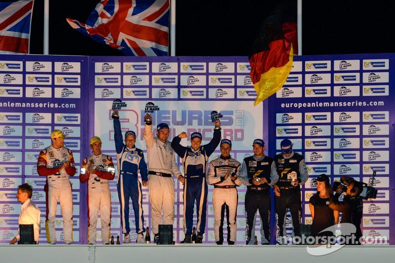 GT podium: winners Johnny Mowlem, Matt Griffin