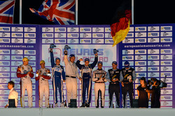 GT podium: winners Johnny Mowlem, Matt Griffin
