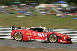 #61 R.Ferri/AIM Motorsport Racing with Ferrari Ferrari 458: Ken Wilden, Alex Tagliani