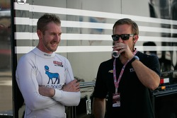 Charlie Kimball, Novo Nordisk Chip Ganassi Racing Honda andEd Carpenter, Ed Carpenter Racing Chevrolet