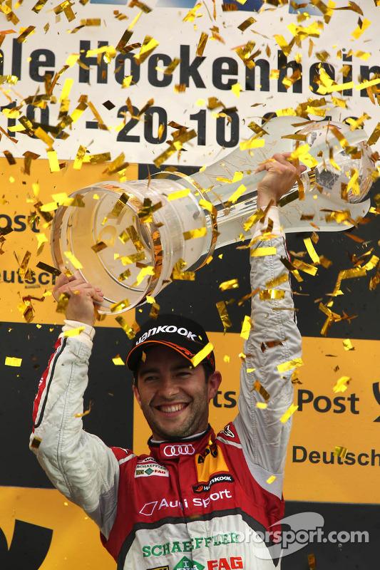 Pódio: Mike Rockenfeller 1, Audi Sport Team Phoenix Racing Audi A5 DTM