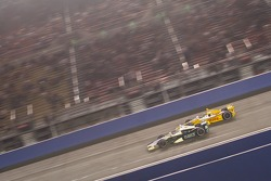 Ed Carpenter, Ed Carpenter Racing Chevrolet and Ryan Hunter-Reay, Andretti Autosport Chevrolet