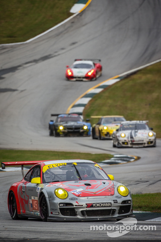 #45 Flying Lizard Motorsports Porsche 911 GT3 Cup: Nelson Canache, Spencer Pumpelly, Madison Snow