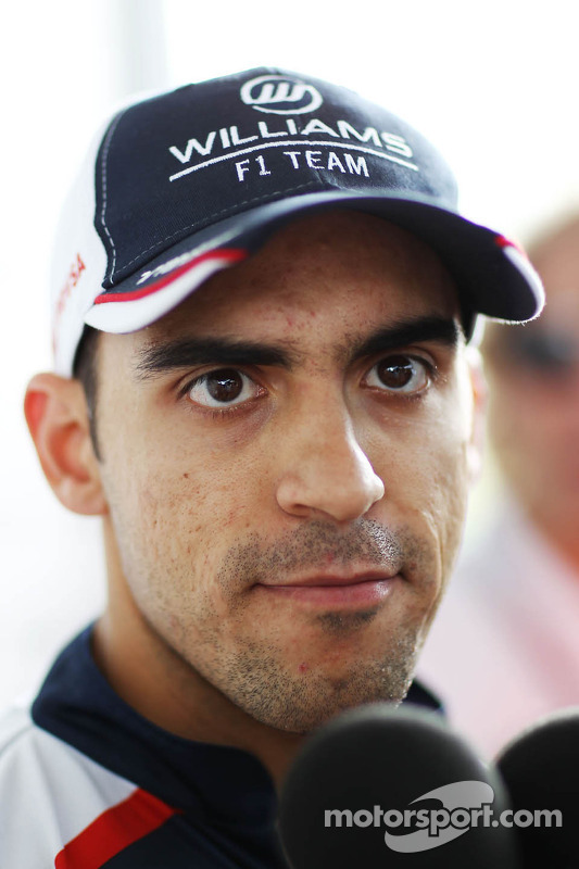 Pastor Maldonado, Williams met de media