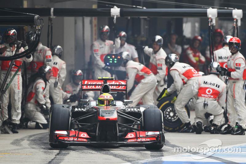 Su mejor actuación en McLaren 2013